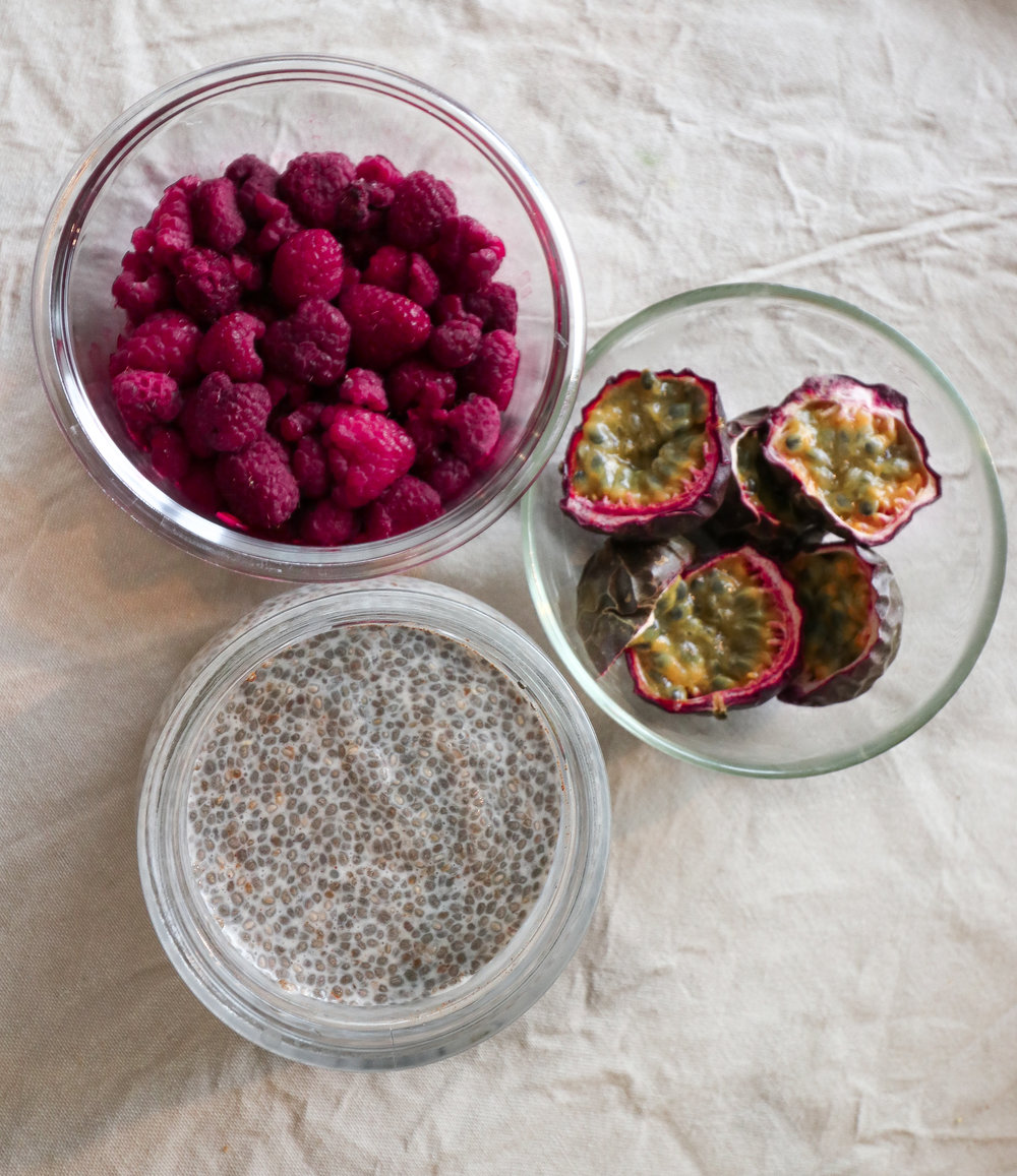 Healthy food prep guide chia pudding breakfast Photo by Linda Haggh.jpg