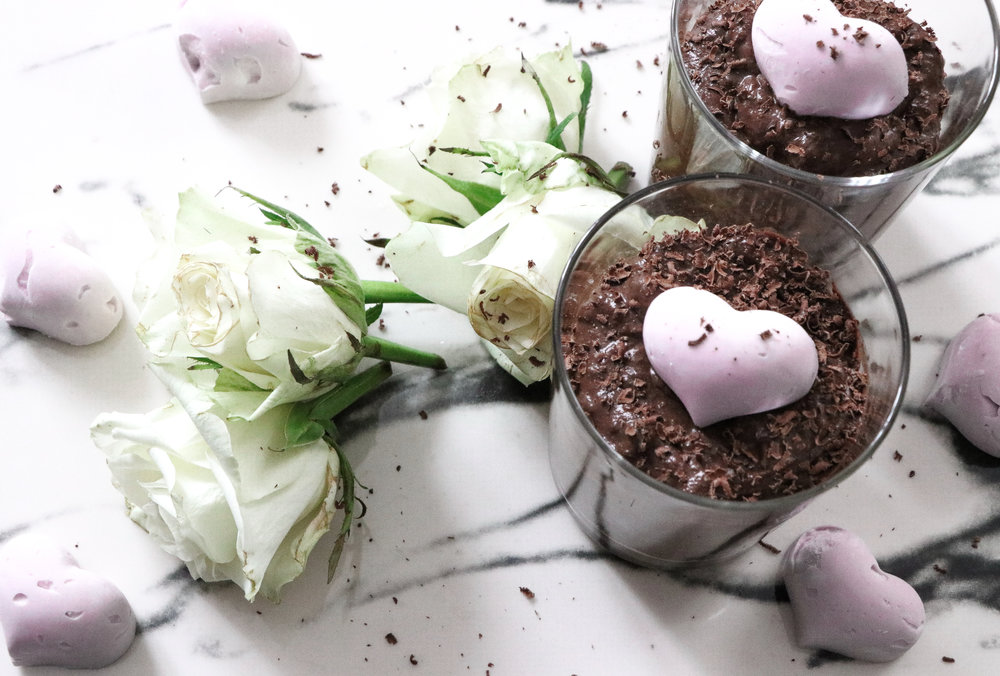 Valentines vegan chocolate mousse dessert recipe by Linda Haggh.jpg