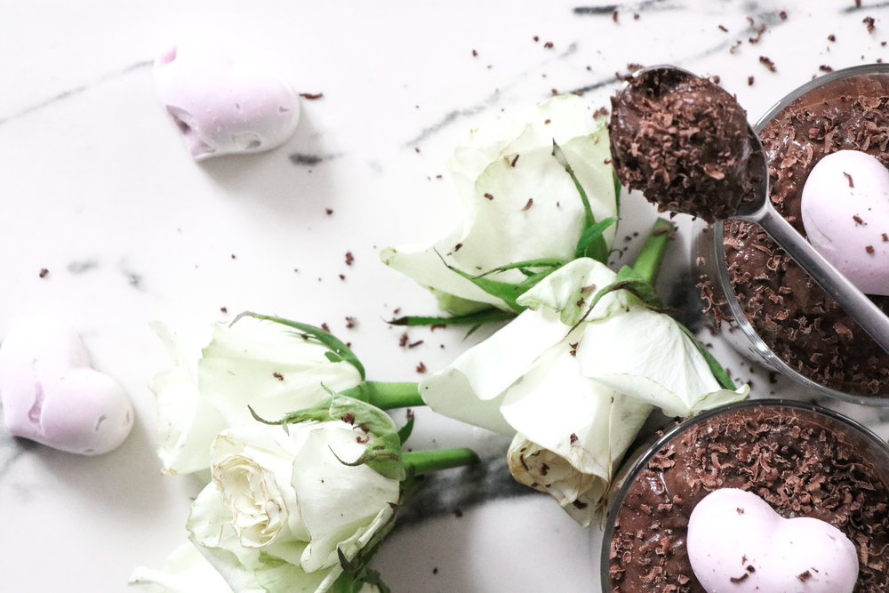 Valentines recipe vegan chocolate mousse recipe by Linda Haggh.jpg