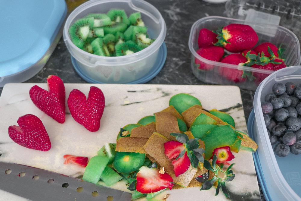 Healthy fruit birthday cake photo by Linda Haggh.jpg