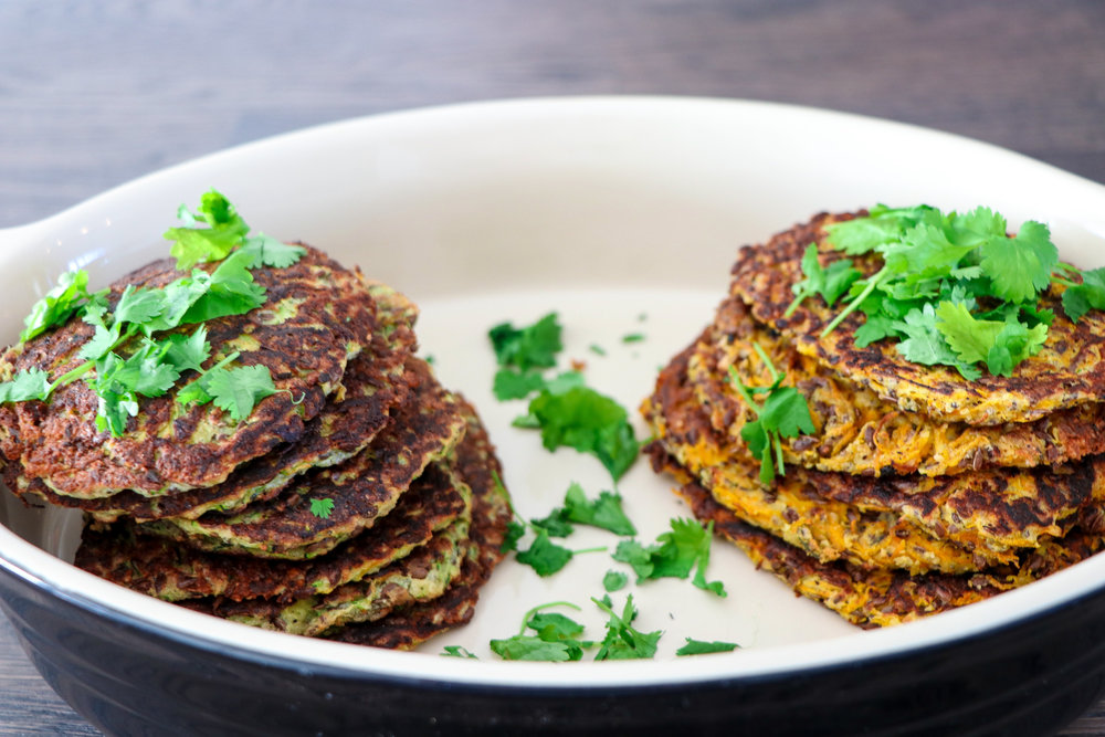 Healthy carrot and zucchini crepes photo by Linda Haggh.jpg