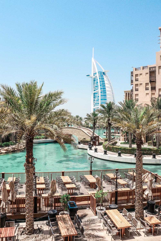 Dubai Madinat Jumeirah and Burj al arab photo Linda Haggh.jpg