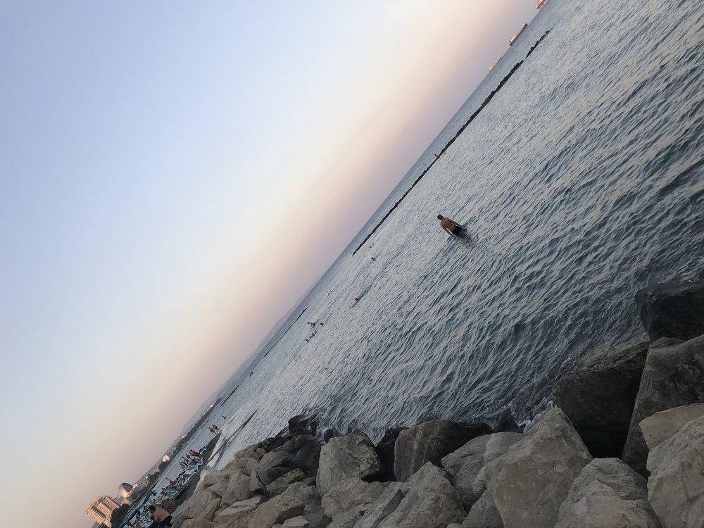 Limassol promenade sunset www.lindahaggh.com.jpg