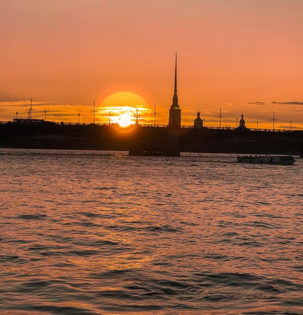 www.lindahaggh.com St Petersburg Sunset.jpg
