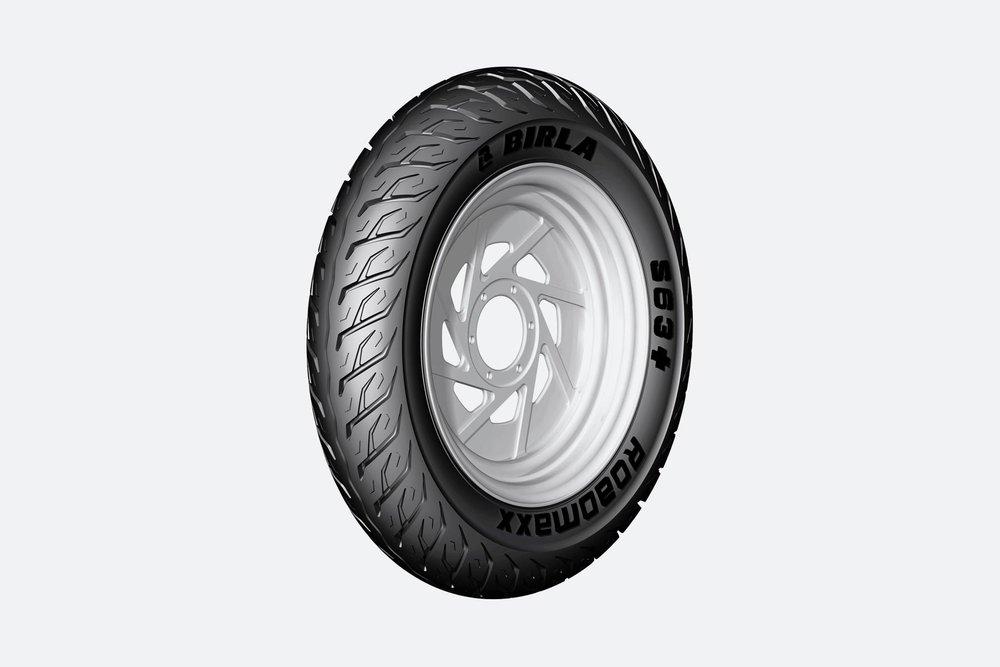 S63+ premium scooter tyre from Birla tyres