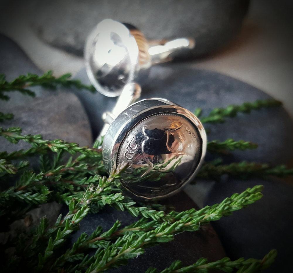 Coin cufflinks hare.jpg