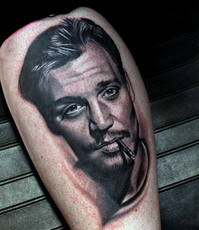 Portrait Tattoo Artist Based In Doncaster Cardinal Sin