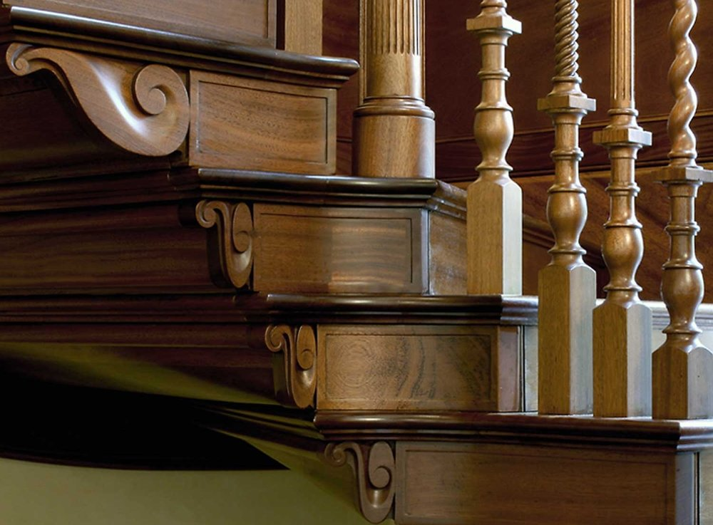 Architectural Joinery - The specification and manufacture of Architectural Joinery is a major speciality of Charles Taylor Woodwork. Our carefully considered approach, combined with consummate craftsmanship and professional project management skills, means that we add superb value to any significant project. These projects often involve work within historic buildings, churches, country houses and private homes.