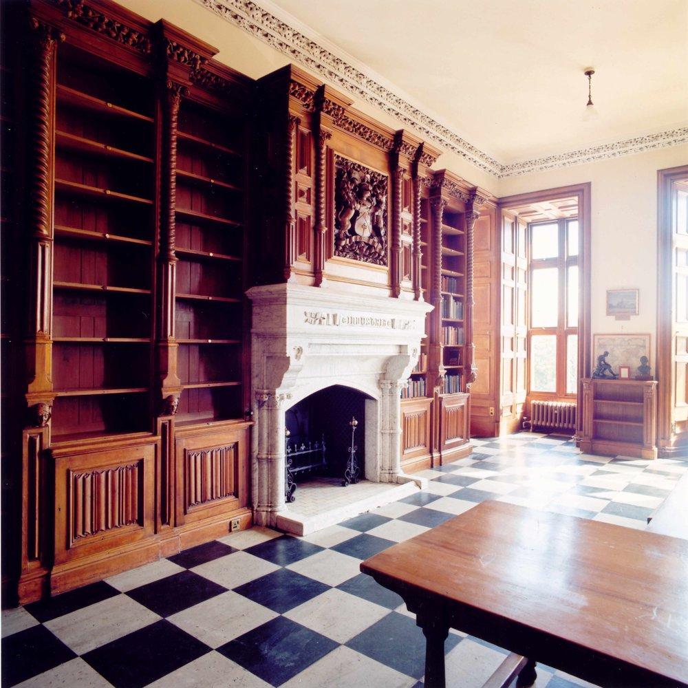 Conservation of Fettes old School Library, Edinburgh.