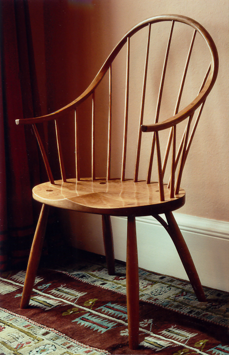 Charles Taylor Woodwork portfolio chair project.
