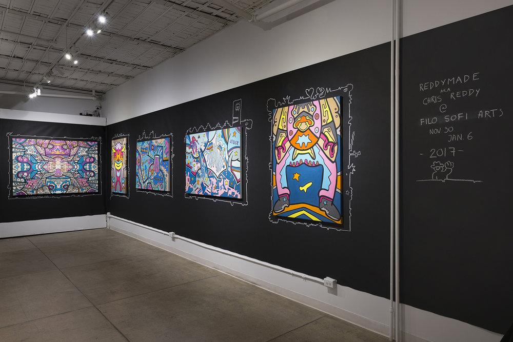 Chris Reddy's Exhibition at Filo Sofi Arts