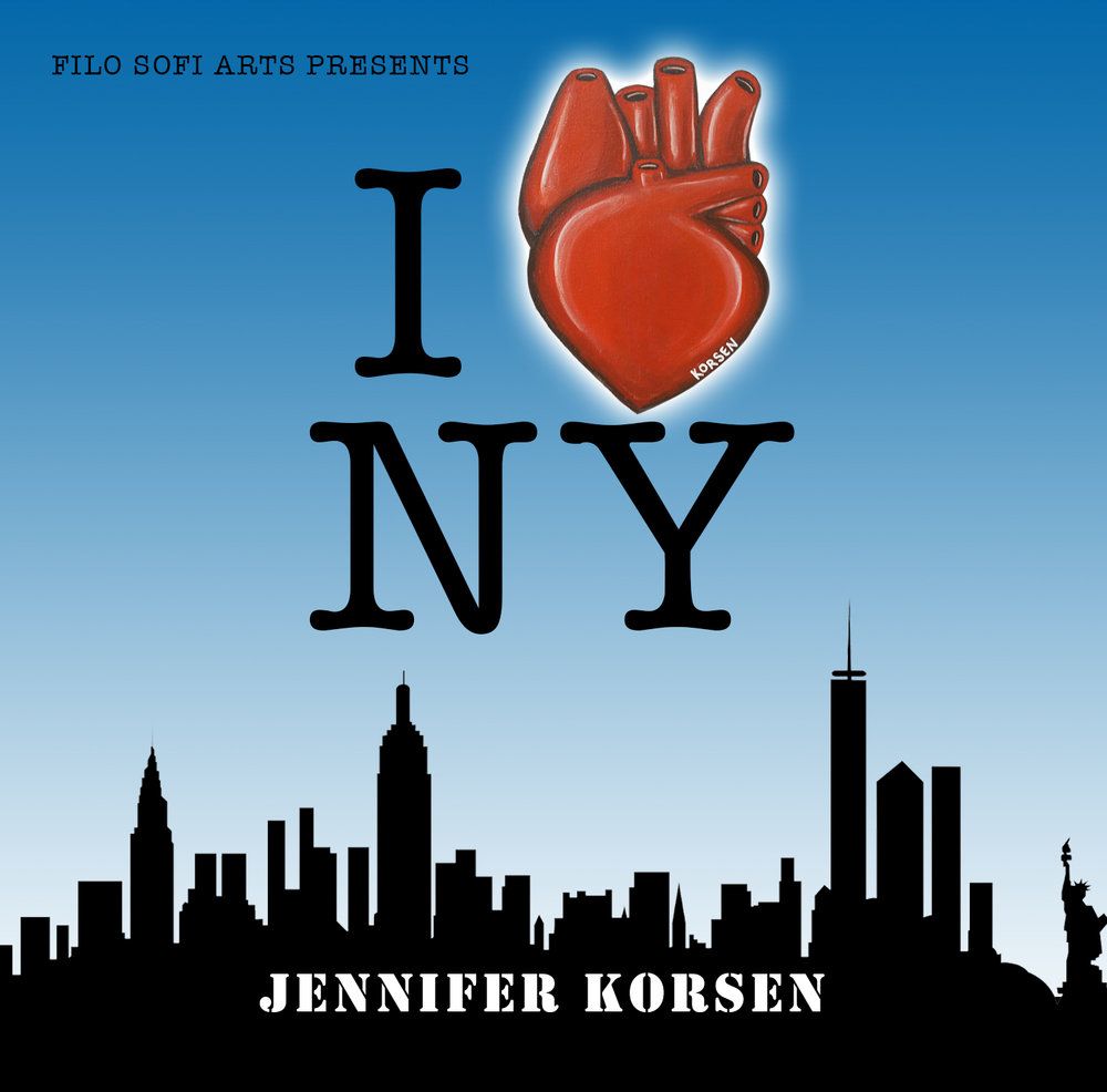 "JENNIFER KORSEN    ""I HEART NEW YORK""  AUGUST 30 - SEPTEMBER 20 2018"