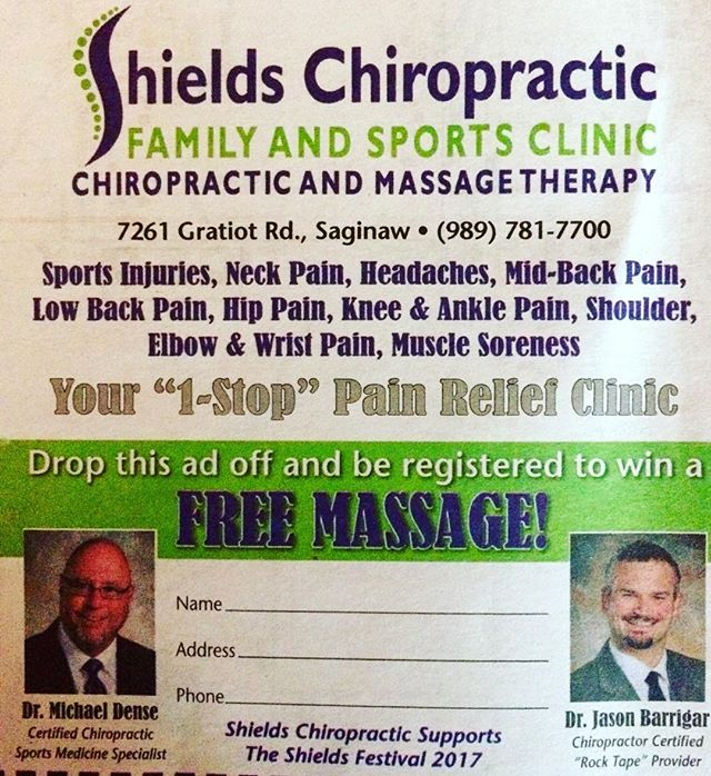 Who doesn't want a free massage?? #wearechiropractic  #bestofthebest  #wegotyourback  #shieldschiropractic