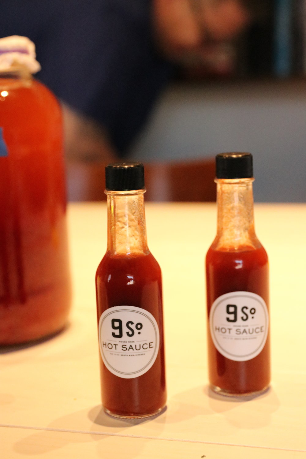 9 South Sauce - Not only are the chefs preserving local Southern goods through seasons as a tribute to Southern tradition, but they are taking it all the way with their in house small-batch hot sauce, 9 South Sauce.