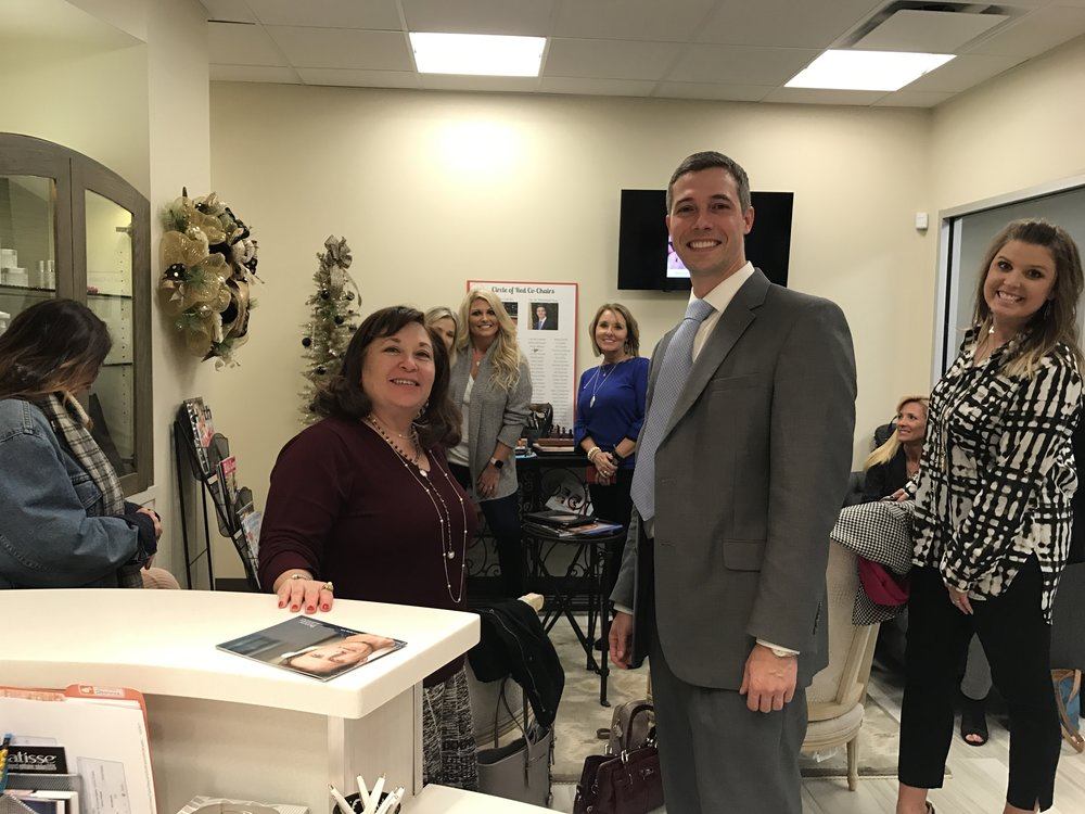 American Heart Association - As the AHA Circle of Red Co-Chair Dr. Guy hosted a Botox  night to help increase membership in the AHA Circle of Red (COR).  The COR dues go to support cardiovascular health in the United States.