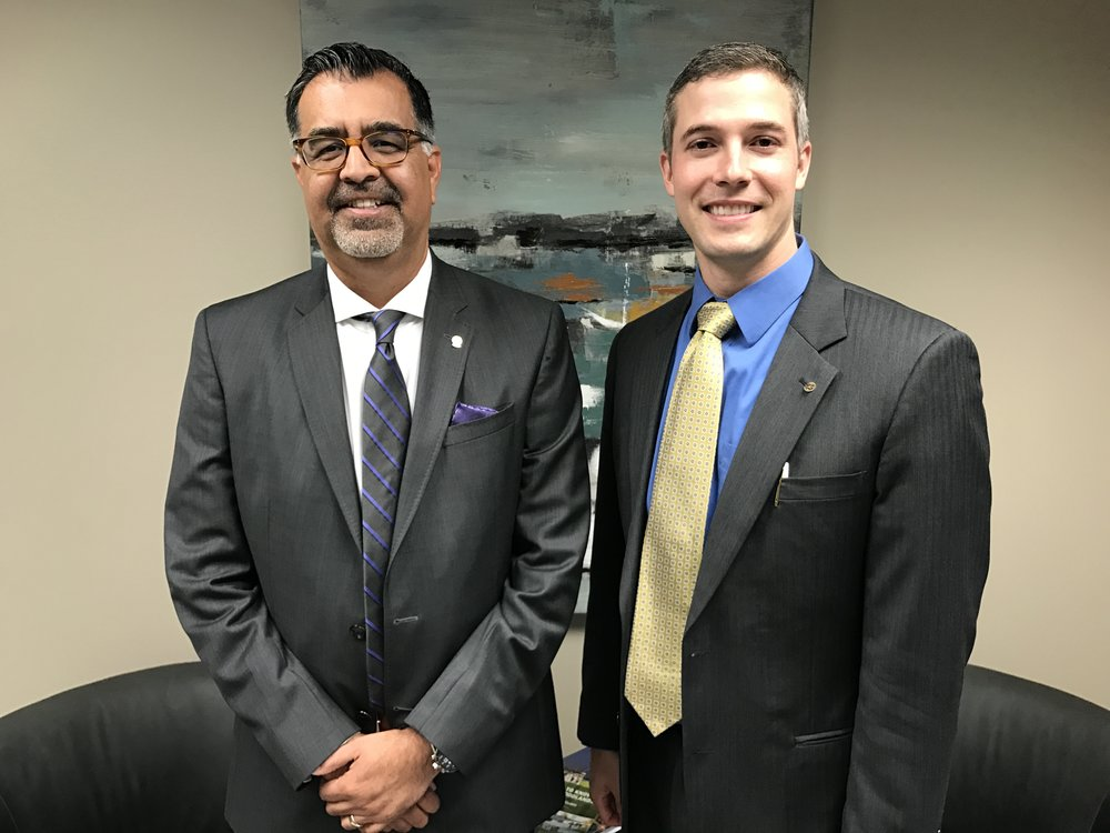 Starfox Financial - Dr. Guy was pleased to be the first guest on the Starfox Financial Interview Series with fellow Rotarian Jose Palafox.  Click the image to see the full video
