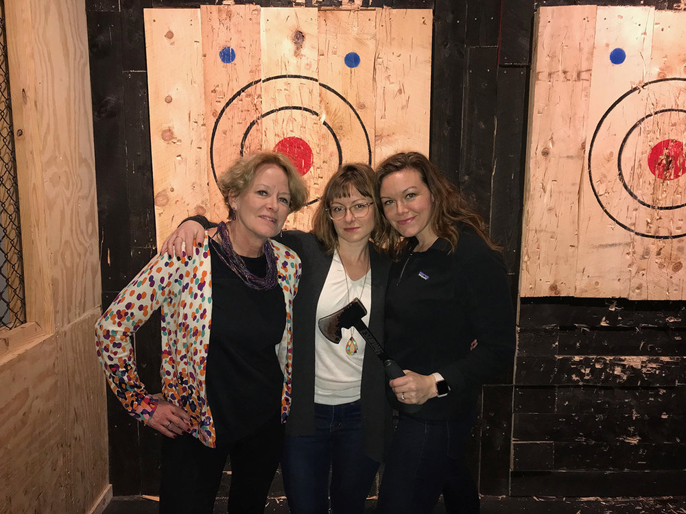 The idea for Jam Program started a year ago, when Teri, Shawna and Ashley identified a need to connect fabulous women in real life.