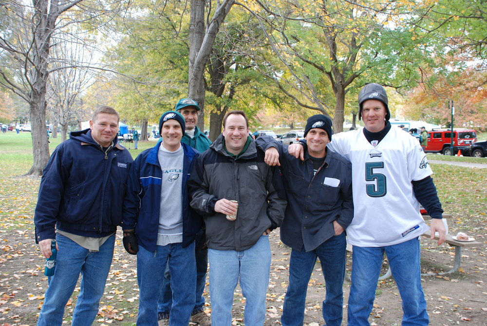 Eagles game 2007