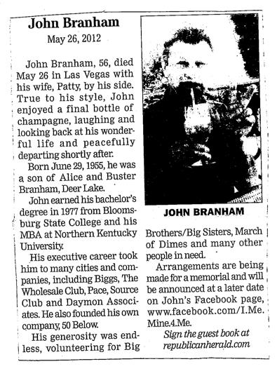 John Branham obit.png