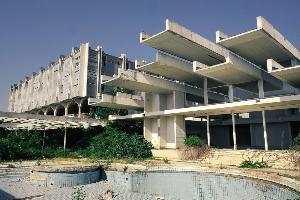 The beautiful decay of the penthouse palace hotel -