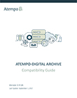 Atempo-Digital Archive Compatibility Guide (EN)