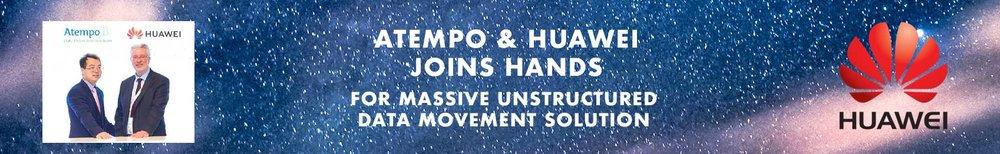 Partnership Huawei & Atempo