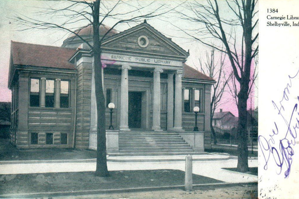 EST. 1903 - One of Indiana's original Carnegie libraries.