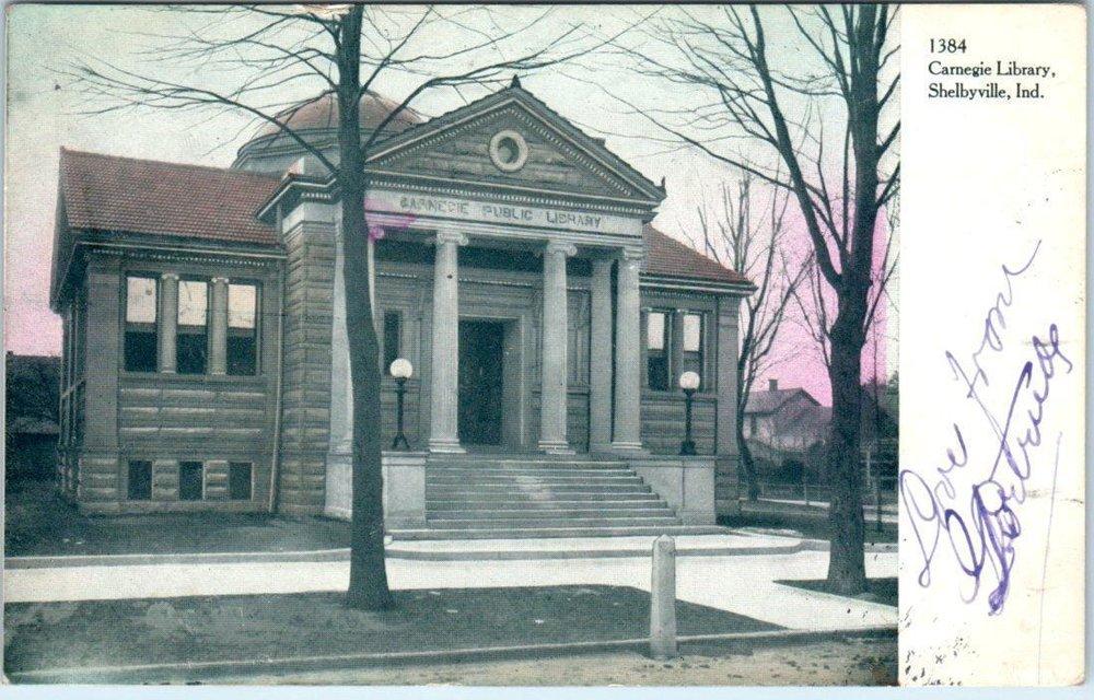 Shelbyville carnegie library 1906.jpg