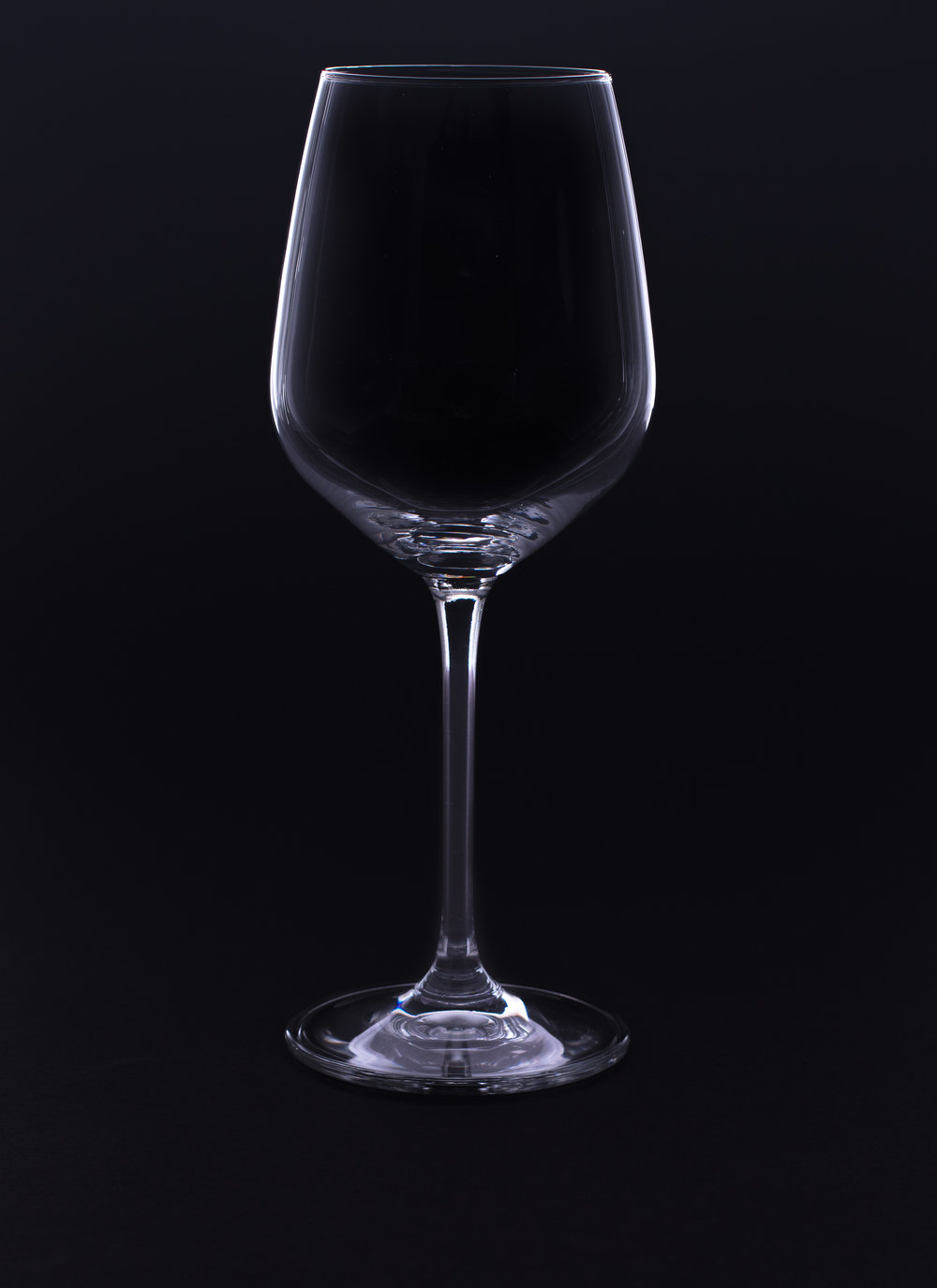 Red Wine Glass - Crystal