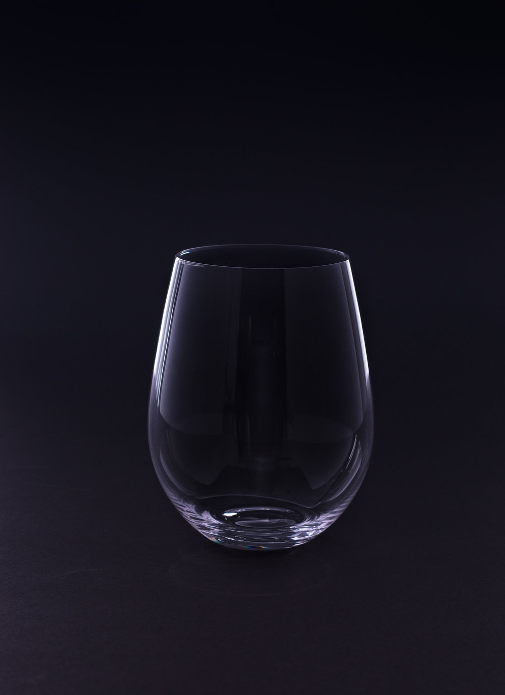 Stemless Red Wine Glass - 21 oz. Crystal
