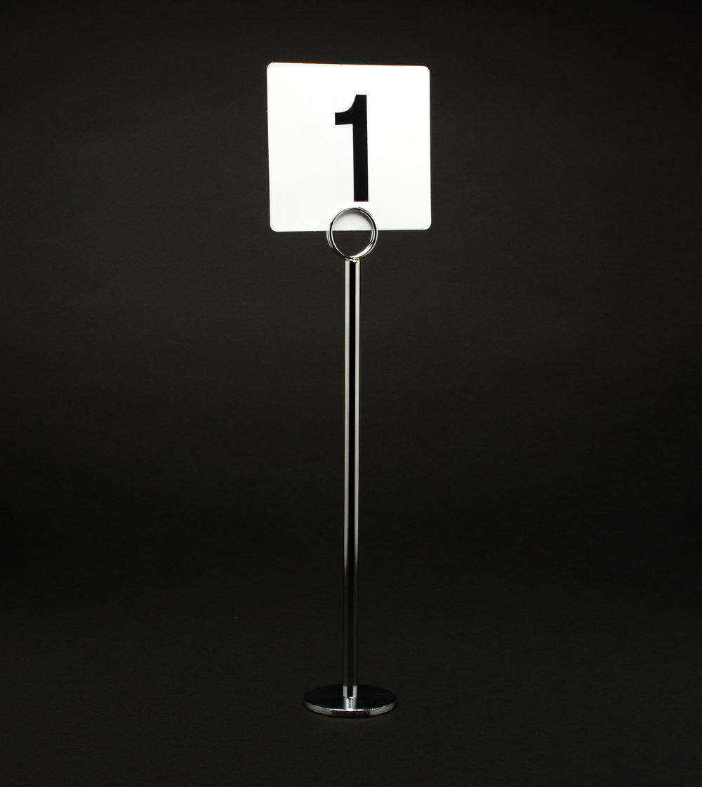 Table Number Stand - Short and Tall