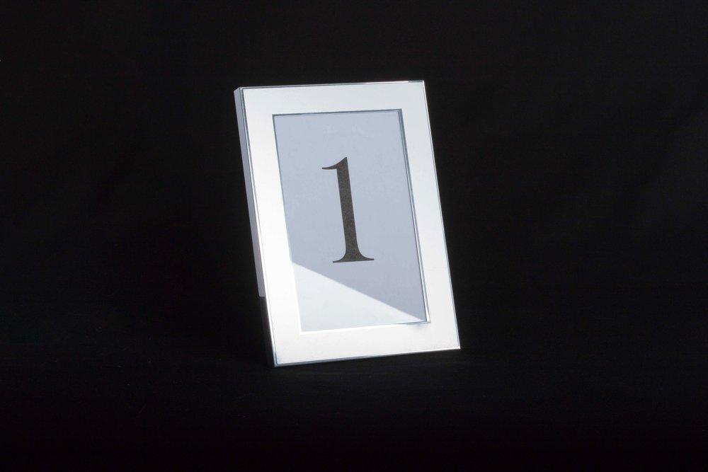 """Matte Silver Frame - 5.5""""x 7.5"""""""