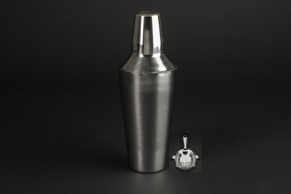 Martini Shaker & Strainer