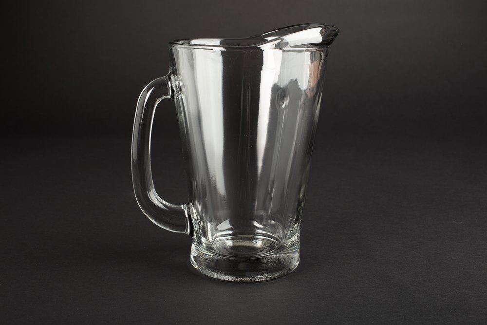 Glass Pitcher 55oz. 1.6L