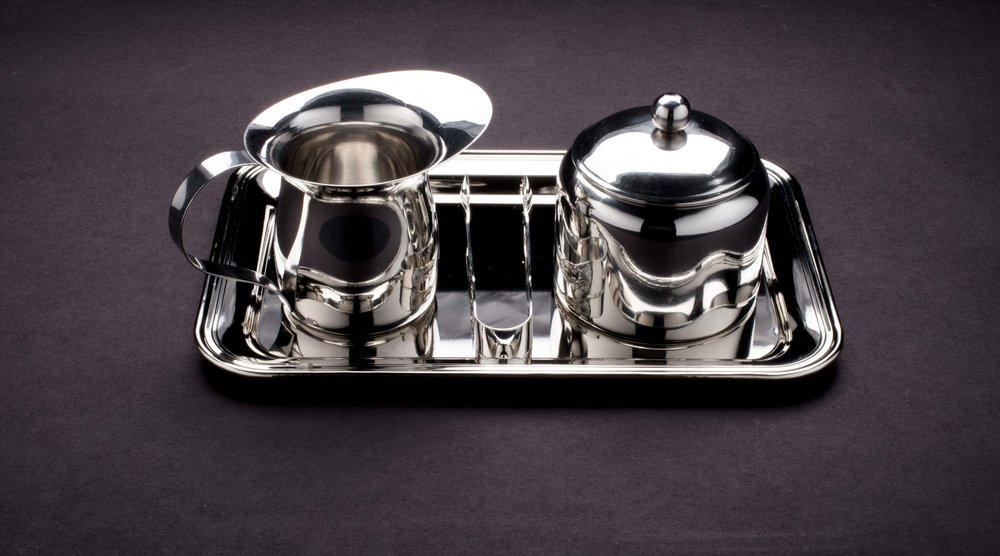 Polished Stainless Steel Coffee Service Set