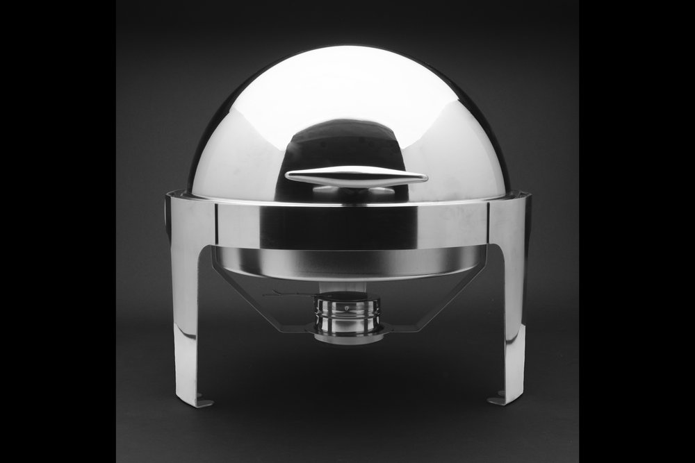 Round Rolltop Chafing Dish