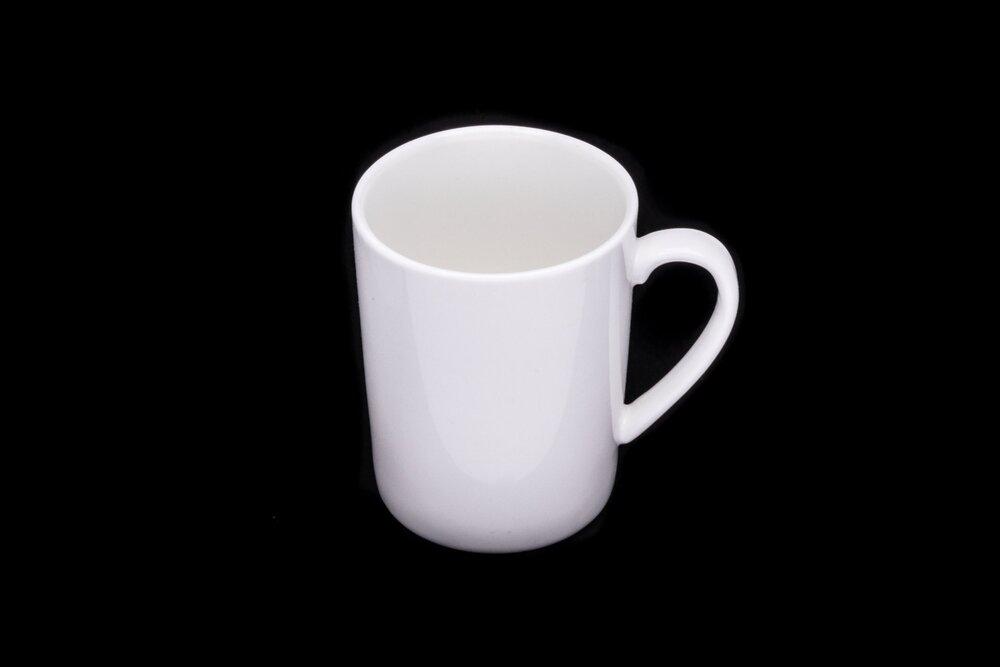 Bone White China Coffee Cup
