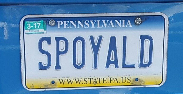 """""""I found SPOYALD in the Kohls parking lot. I just had to laugh at that because recently I've been blessed with so much and I realized I've been taking it all for granted. I just needed a little reminder to be thankful and not whine about what I don't have."""""""