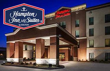 Hampton Inn &Suites - 4002 W Comanche, Dodge City, KSLocated right next to Boot Hill Casino!620-225-0000
