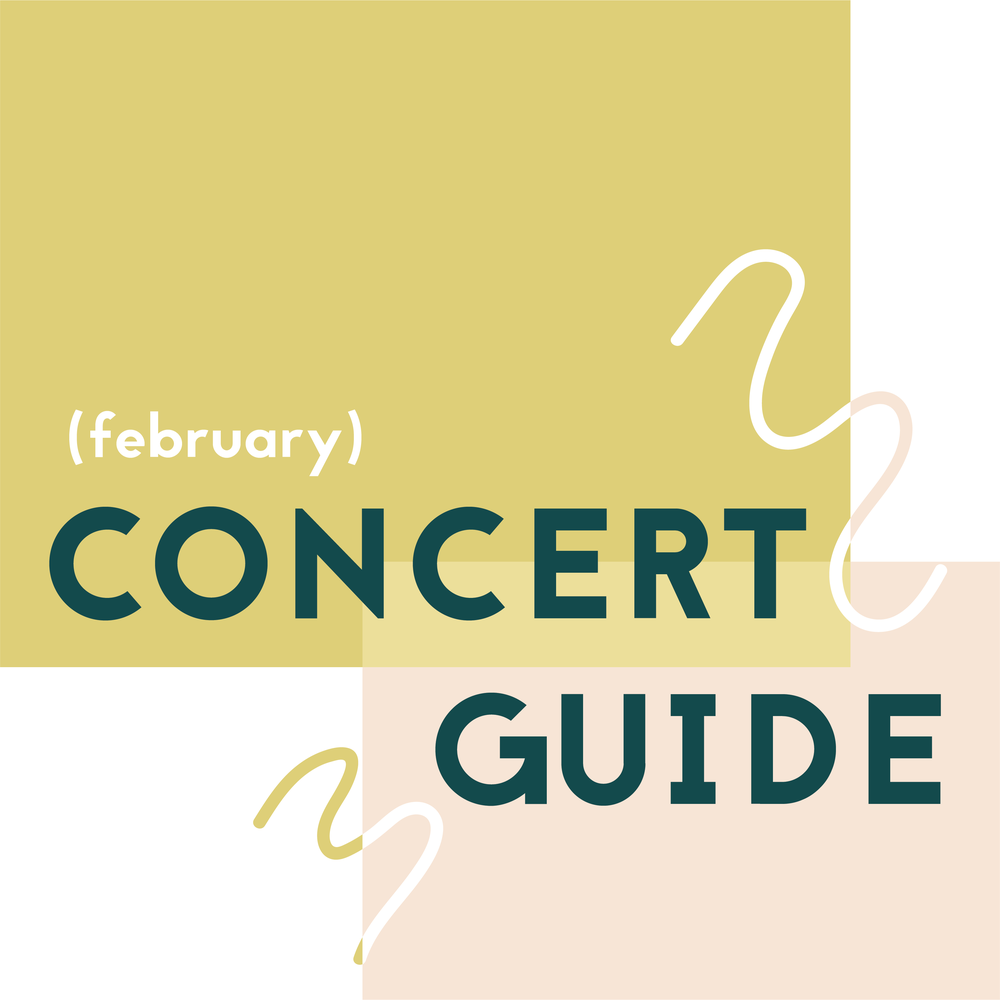 Concert Guide: February