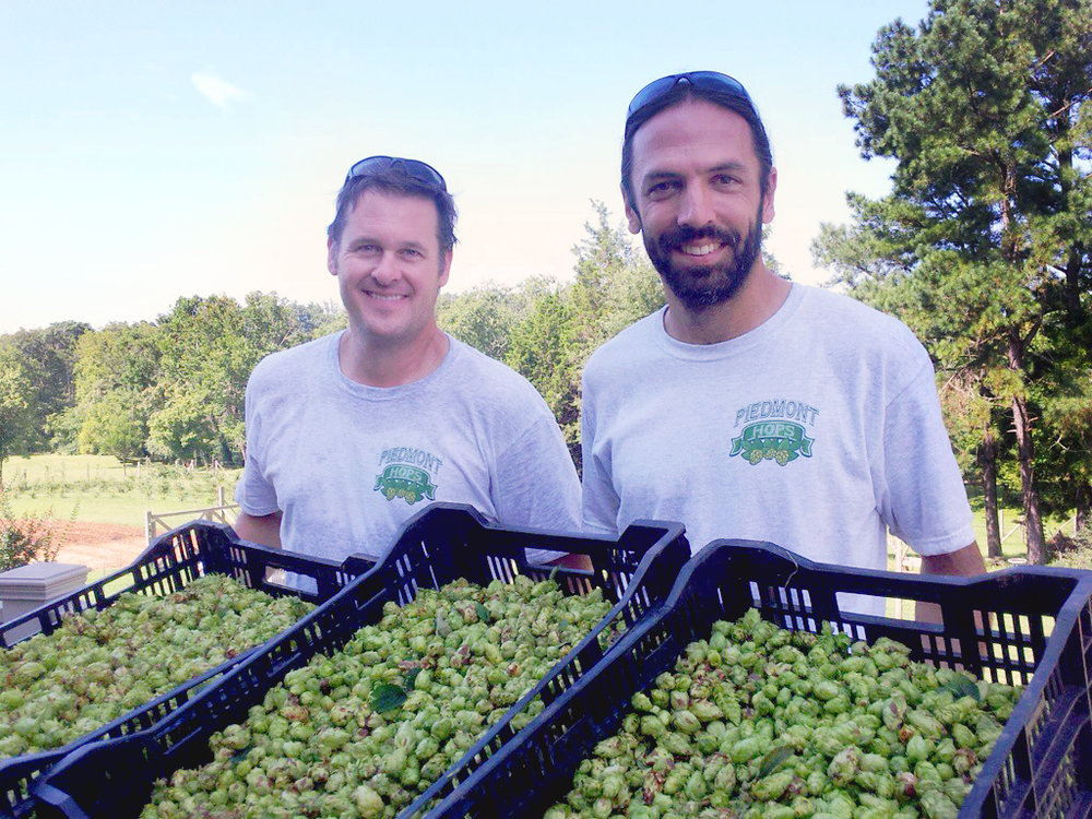 Steve Brown & David Goode of Piedmont Hops