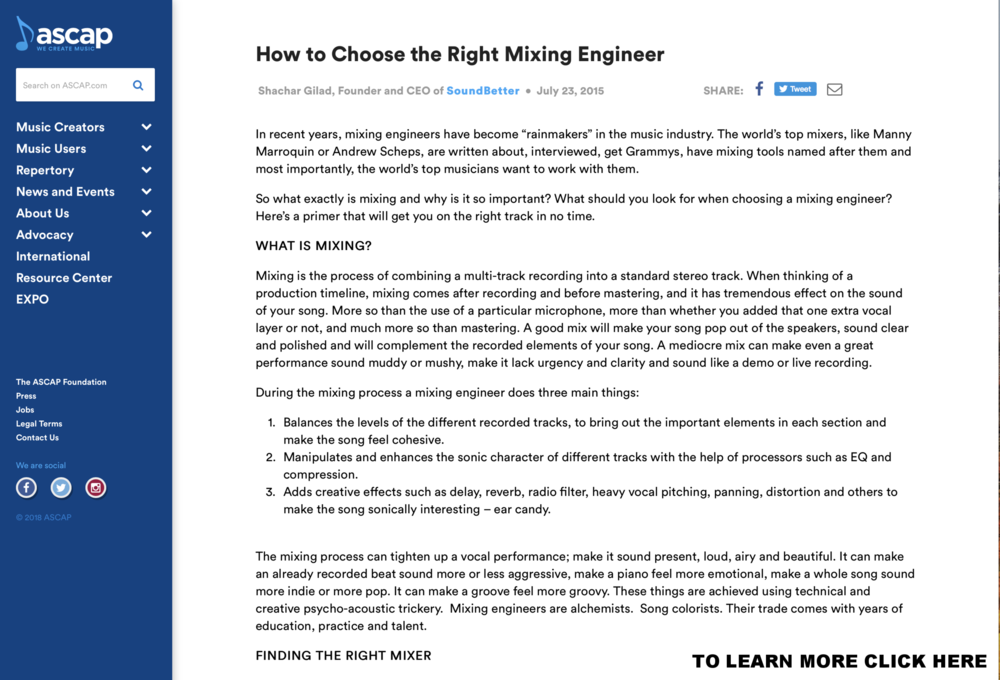How to Choose the Right Mixing Engineer