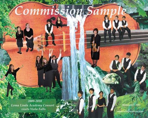 Loma Linda Academy Consort visits Viola Falls