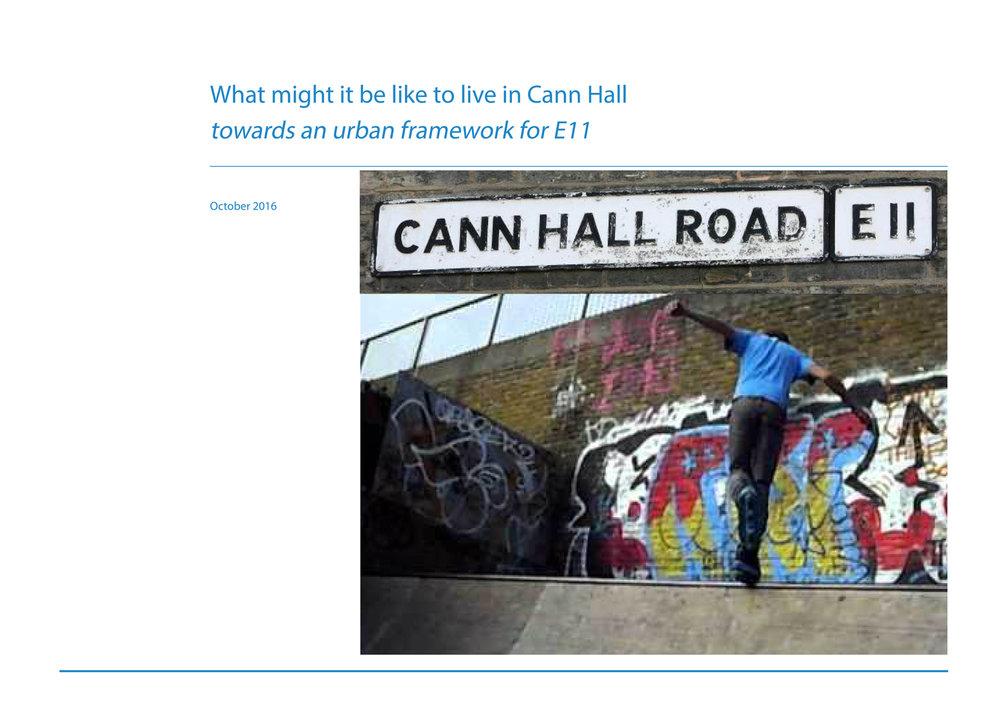 Cann Hall Waltham Forest E11 Urban Design