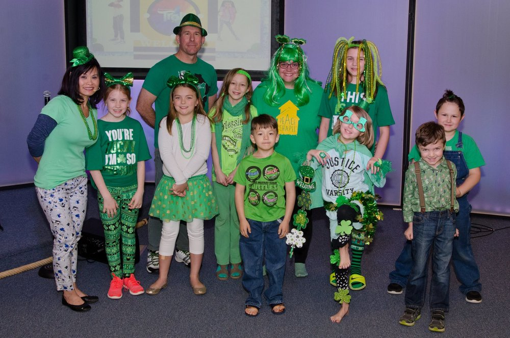 st patricks day at submerge kids church.jpg