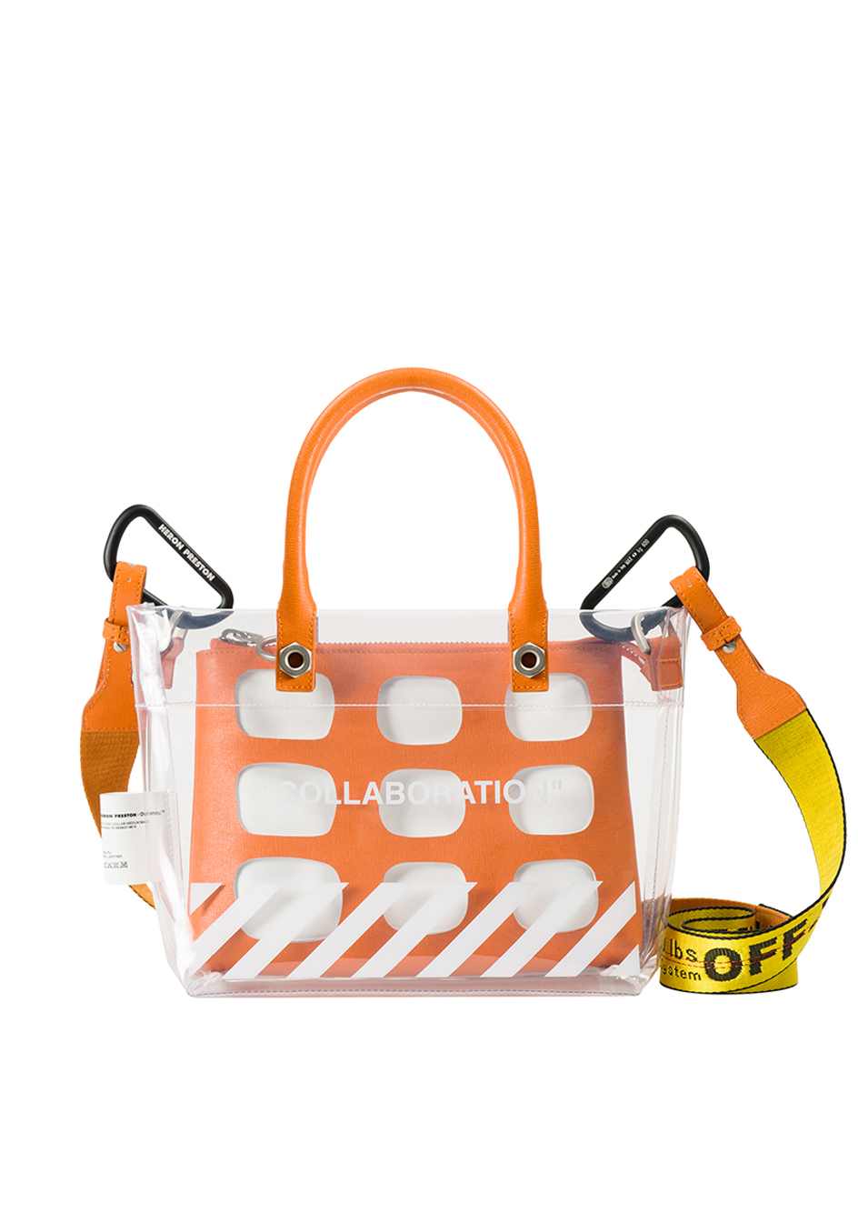 84eb78841c7919 Kolor Magazine Off-White and Heron Preston Have Collaborated on A Unisex  Handbag 2.