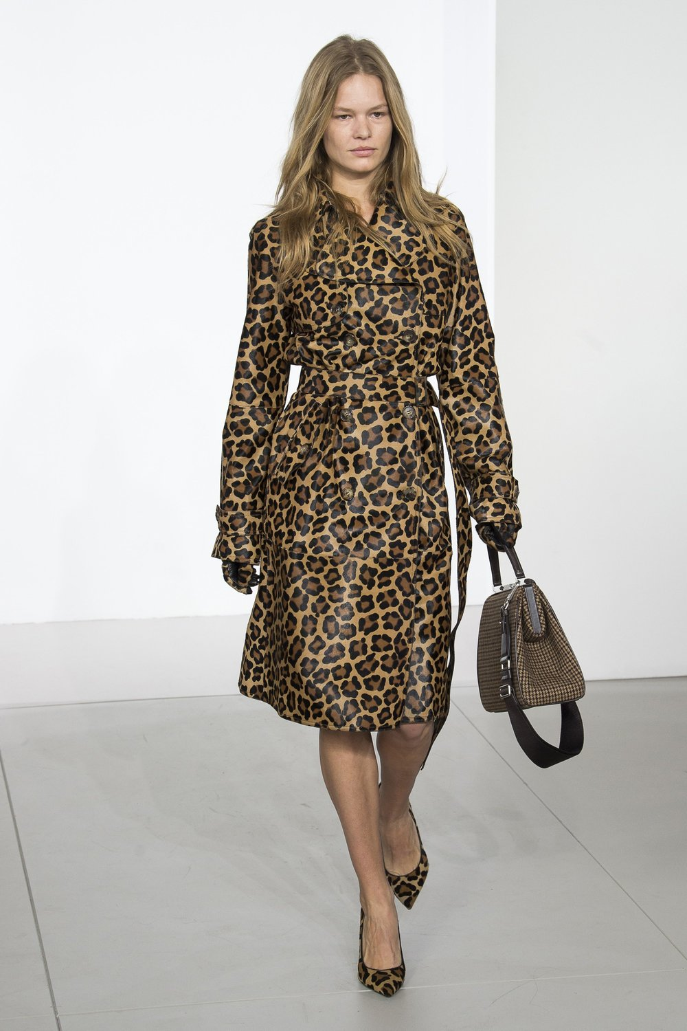 A look from  Michael Kors  Fall 2018 Collection