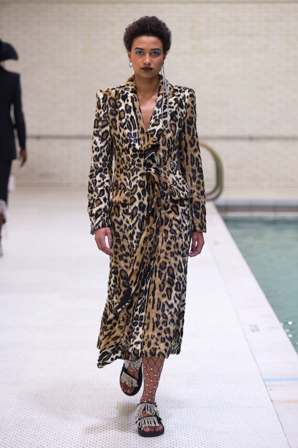 A look from  Area  Fall 2018 Collection