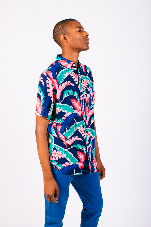 DUVIN Shirt, SLATE DENIM & CO Jeans