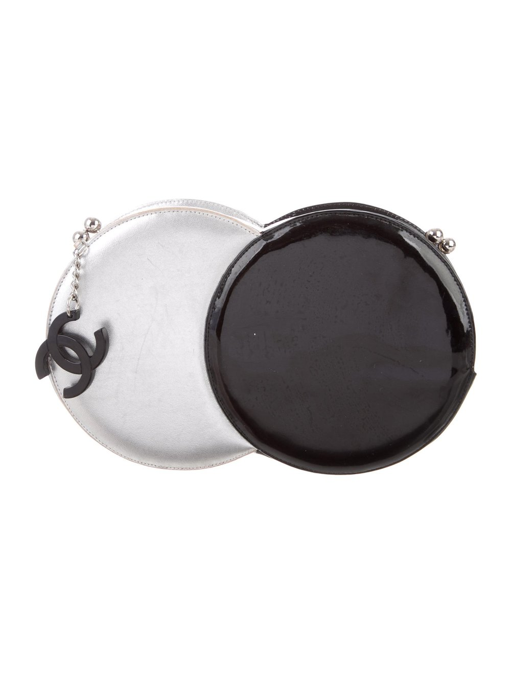 Chanel Double Circle Clutch  $995,  therealreal.com